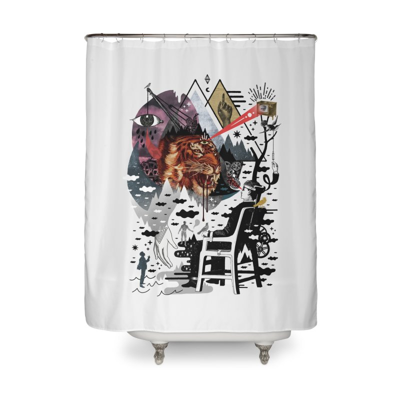 Hail Muse! Home Shower Curtain by ordinaryfox