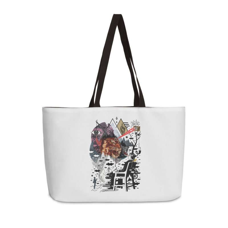 Hail Muse! Accessories Weekender Bag Bag by ordinary fox