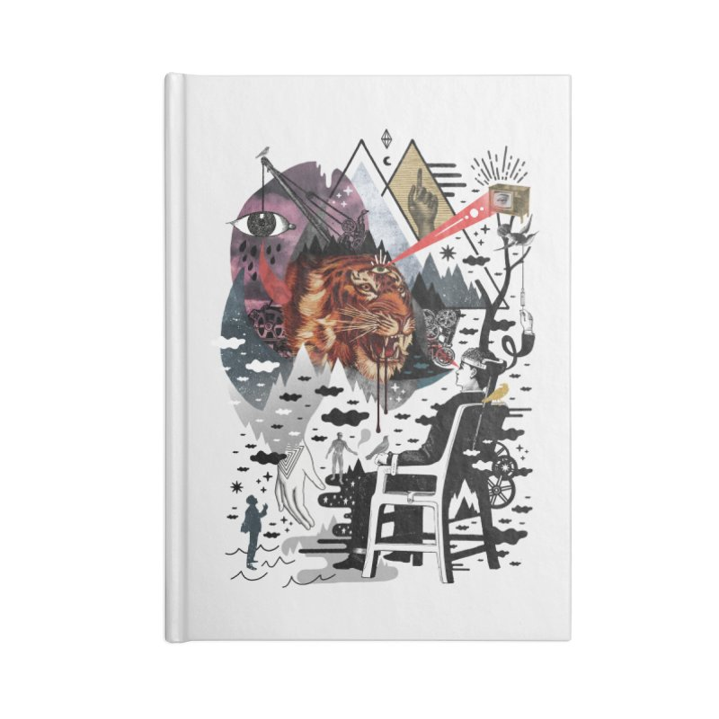 Hail Muse! Accessories Blank Journal Notebook by