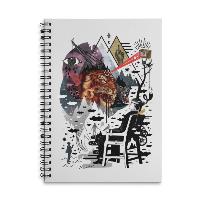 Hail Muse! Accessories Lined Spiral Notebook by