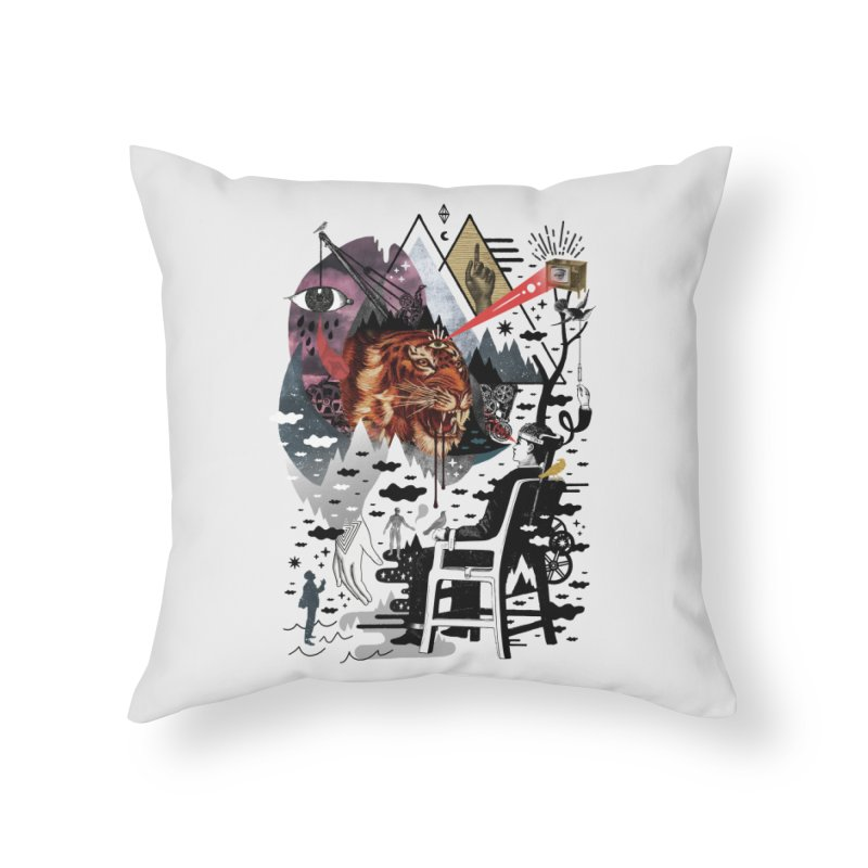 Hail Muse! Home Throw Pillow by ordinaryfox