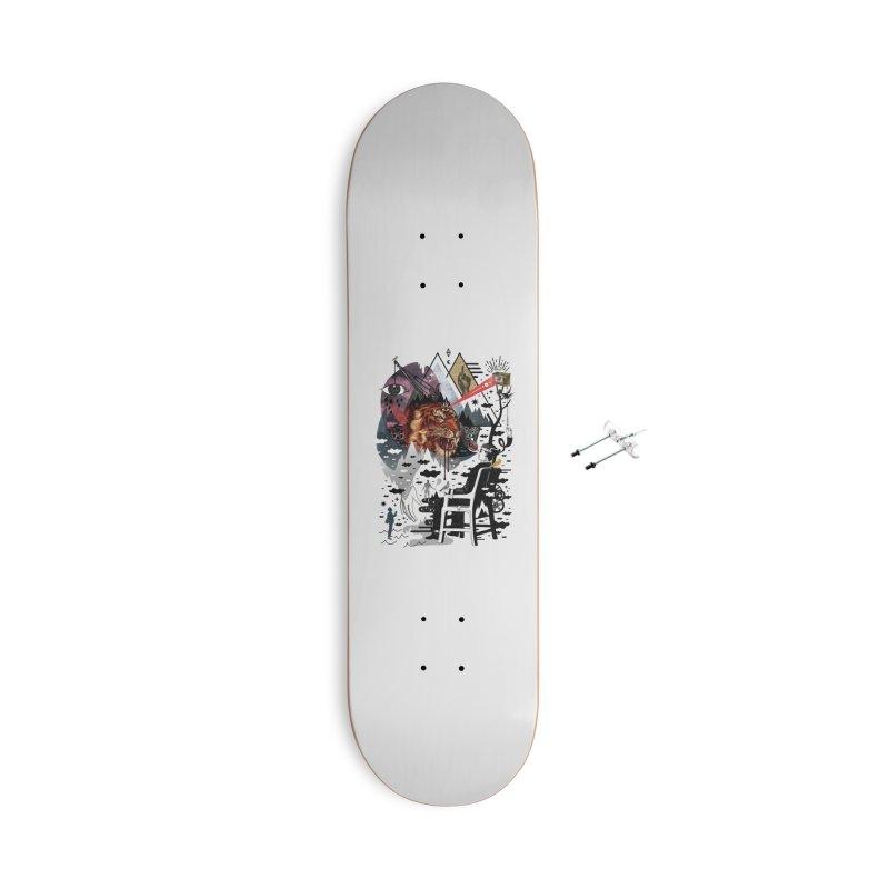 Hail Muse! Accessories Skateboard by ordinaryfox