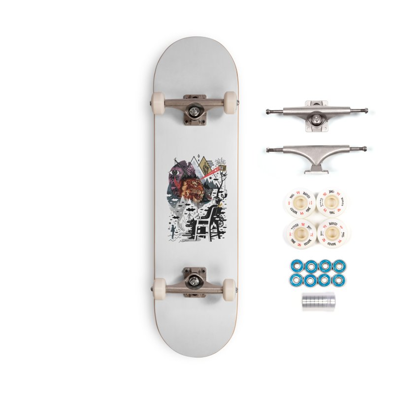 Hail Muse! Accessories Complete - Premium Skateboard by ordinary fox