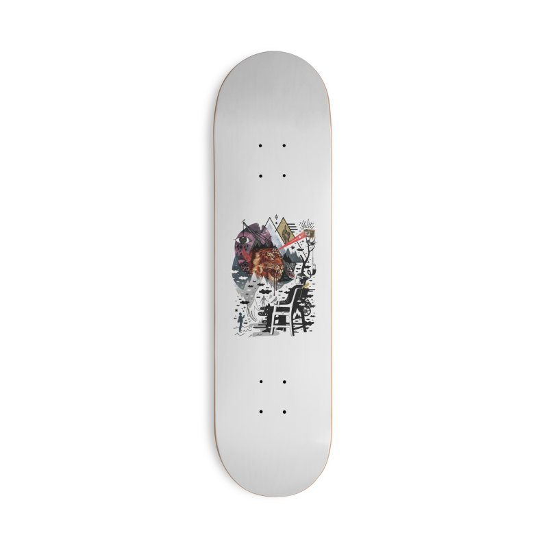 Hail Muse! Accessories Deck Only Skateboard by