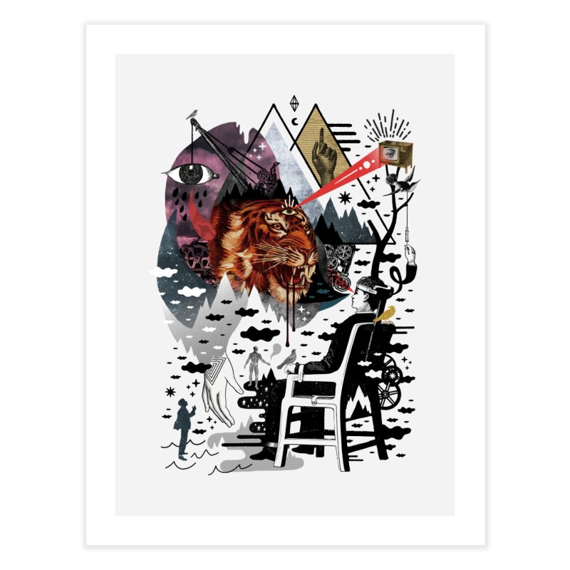 Hail Muse! Home Fine Art Print by ordinaryfox