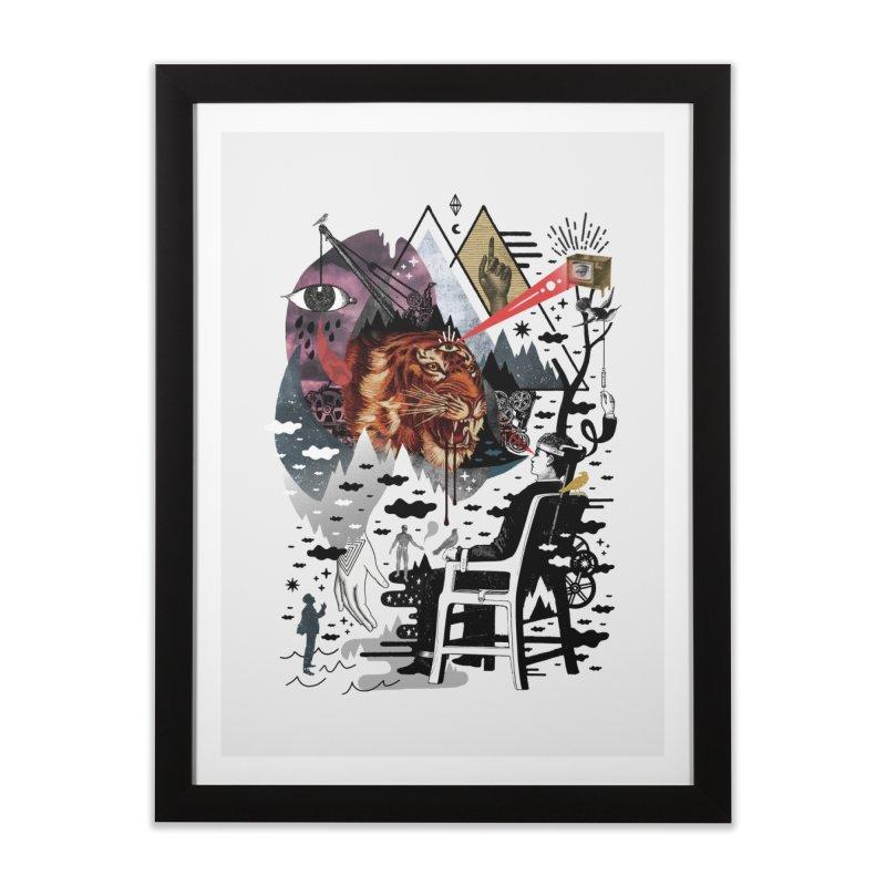 Hail Muse! Home Framed Fine Art Print by