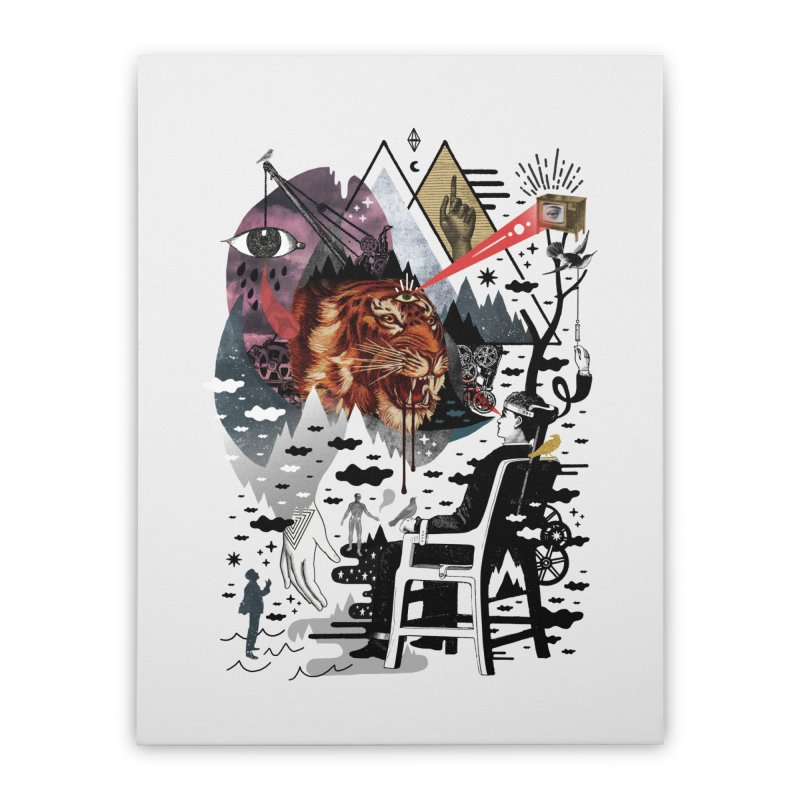 Hail Muse! Home Stretched Canvas by