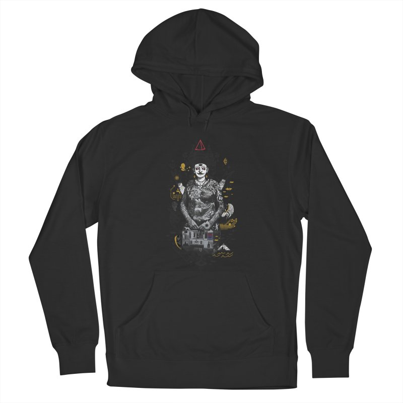 Dweller on the Threshold Women's French Terry Pullover Hoody by