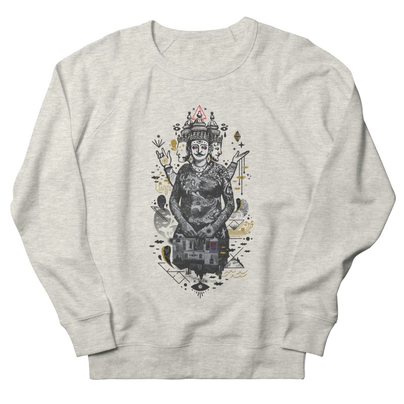 Dweller on the Threshold Women's French Terry Sweatshirt by