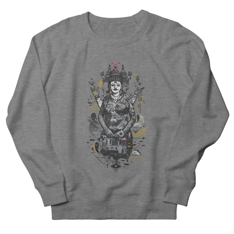 Dweller on the Threshold Men's French Terry Sweatshirt by