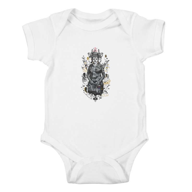 Dweller on the Threshold Kids Baby Bodysuit by