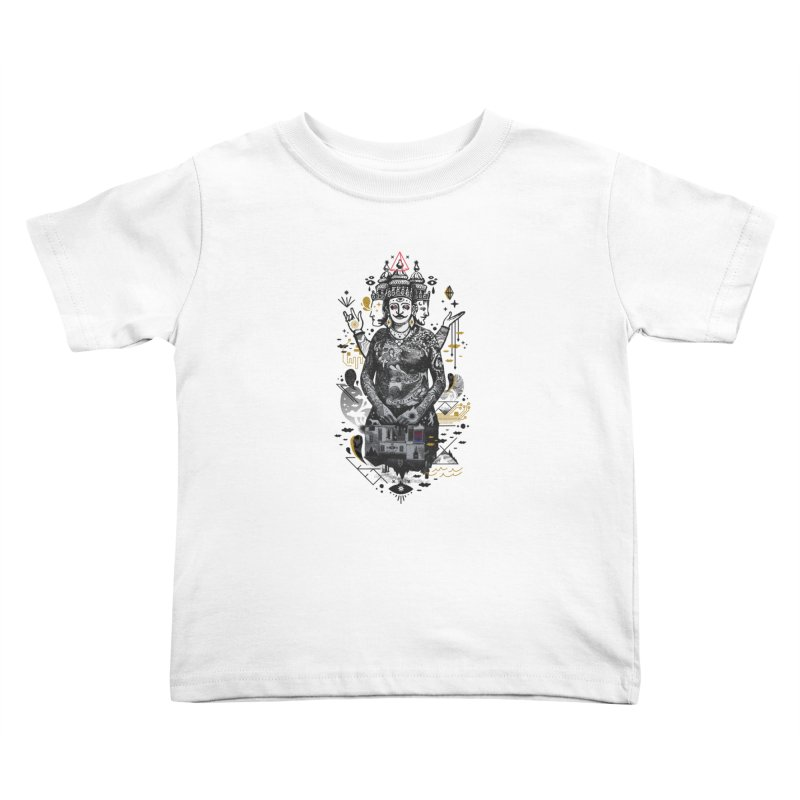 Dweller on the Threshold Kids Toddler T-Shirt by ordinaryfox