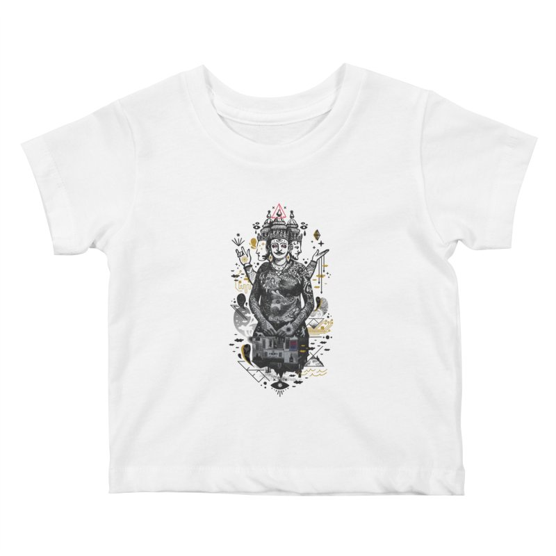 Dweller on the Threshold Kids Baby T-Shirt by