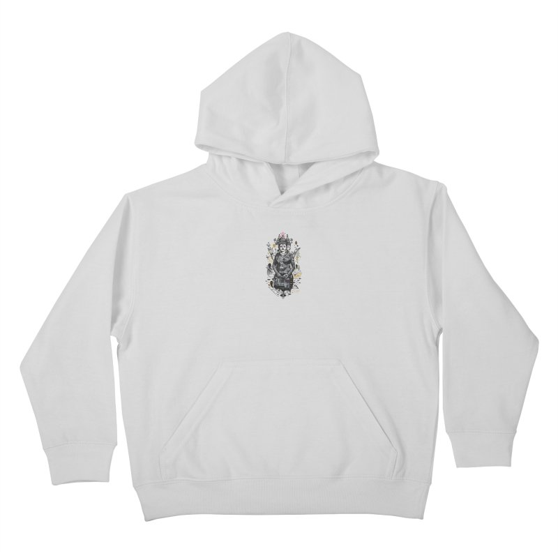 Dweller on the Threshold Kids Pullover Hoody by