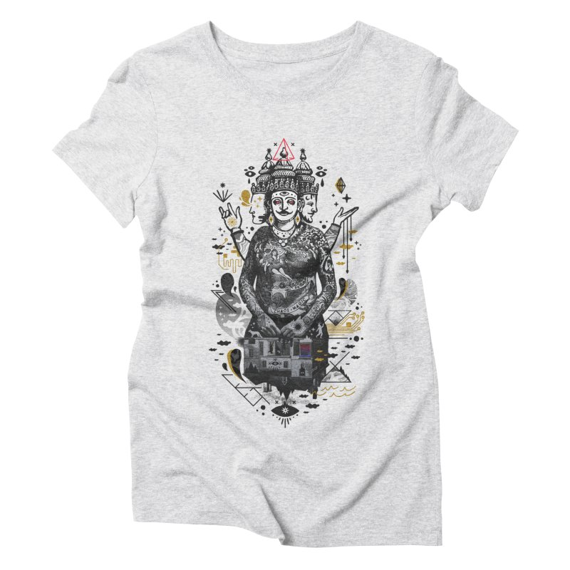 Dweller on the Threshold Women's Triblend T-Shirt by