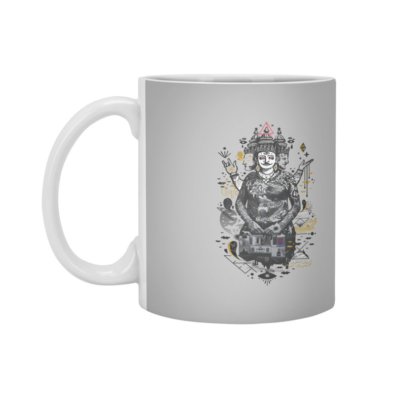 Dweller on the Threshold Accessories Mug by ordinaryfox