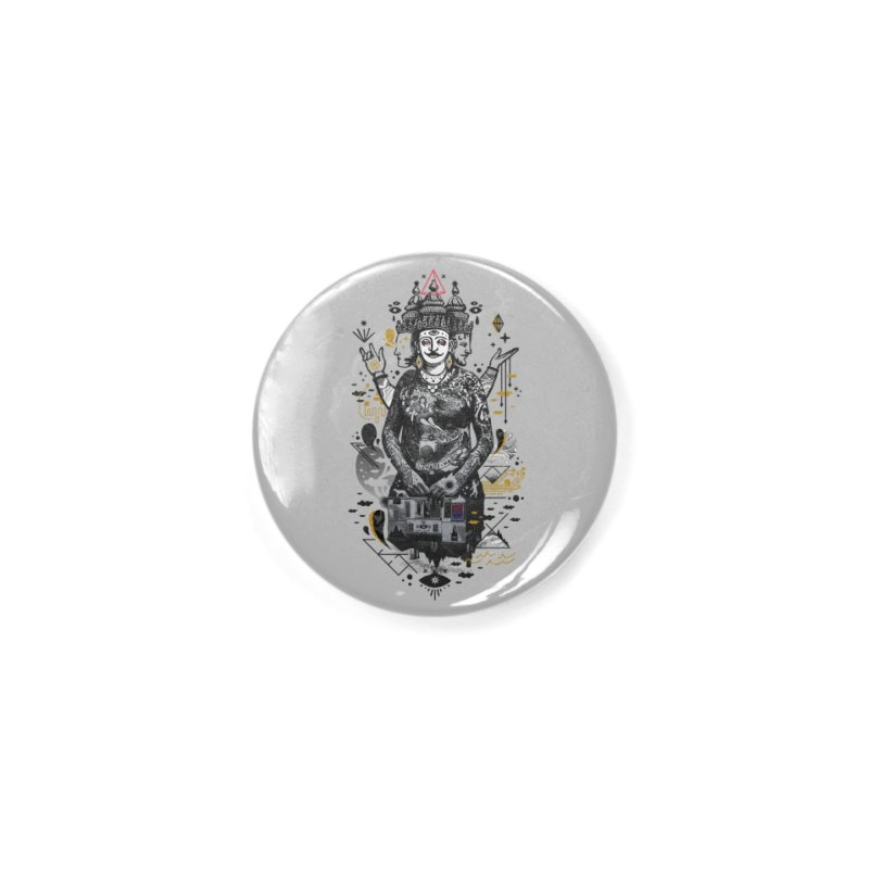 Dweller on the Threshold Accessories Button by