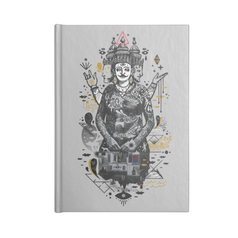 Dweller on the Threshold Accessories Lined Journal Notebook by