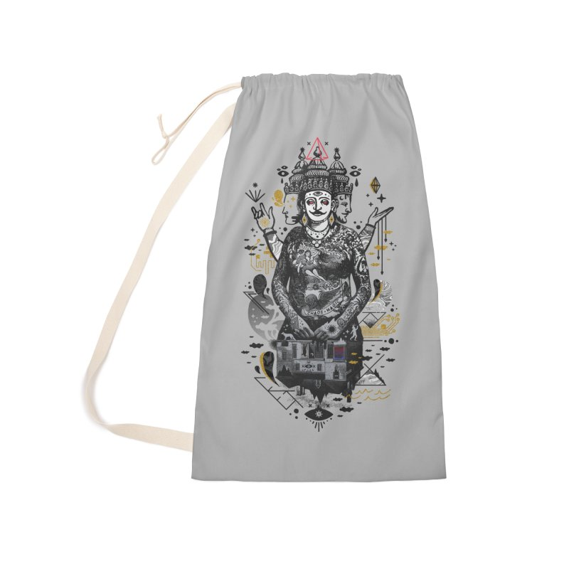 Dweller on the Threshold Accessories Laundry Bag Bag by