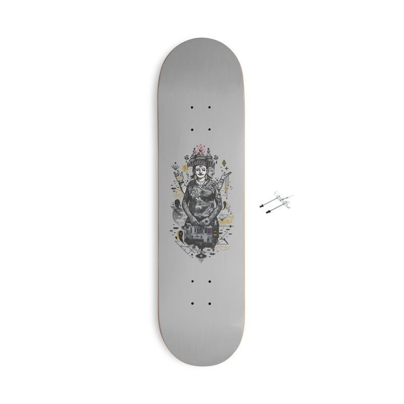 Dweller on the Threshold Accessories With Hanging Hardware Skateboard by