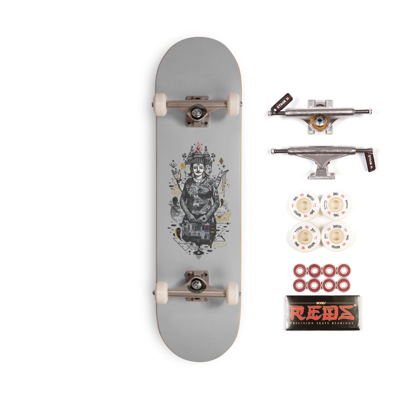 Dweller on the Threshold Accessories Complete - Pro Skateboard by