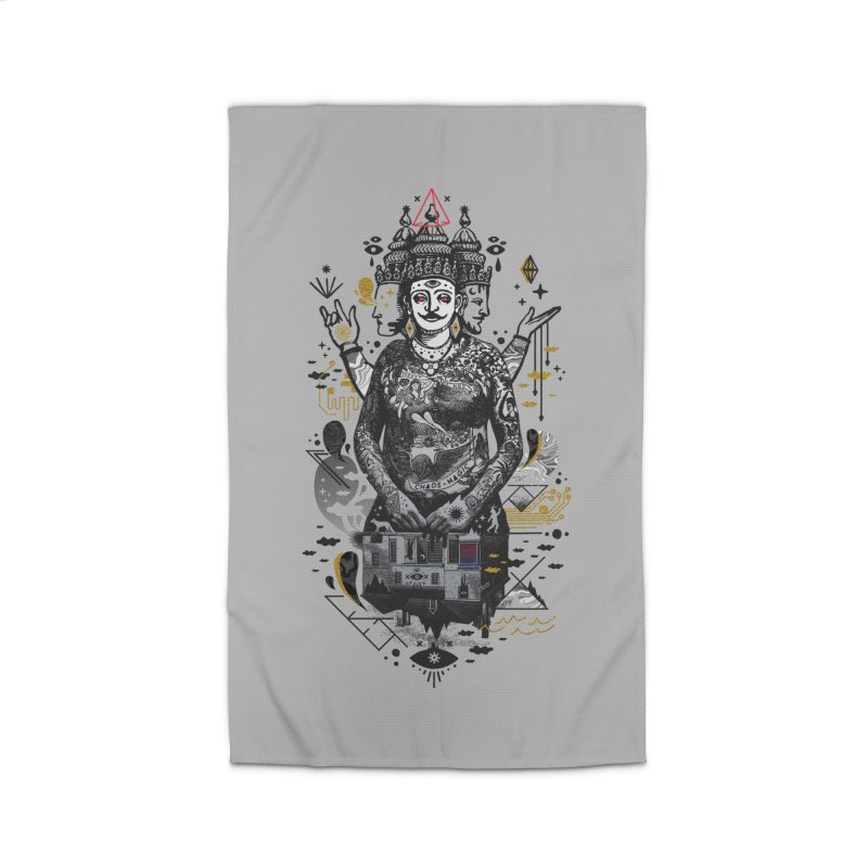 Dweller on the Threshold Home Rug by