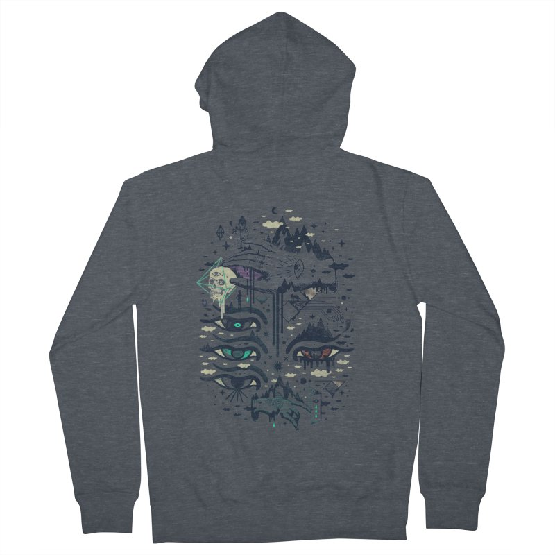 Ego Deaf Men's French Terry Zip-Up Hoody by