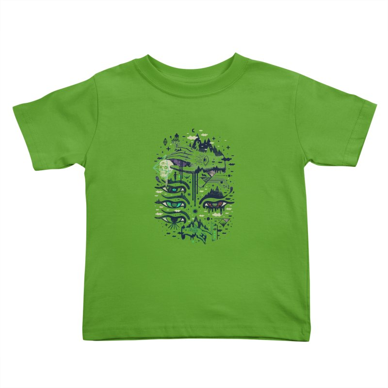 Ego Deaf Kids Toddler T-Shirt by ordinaryfox