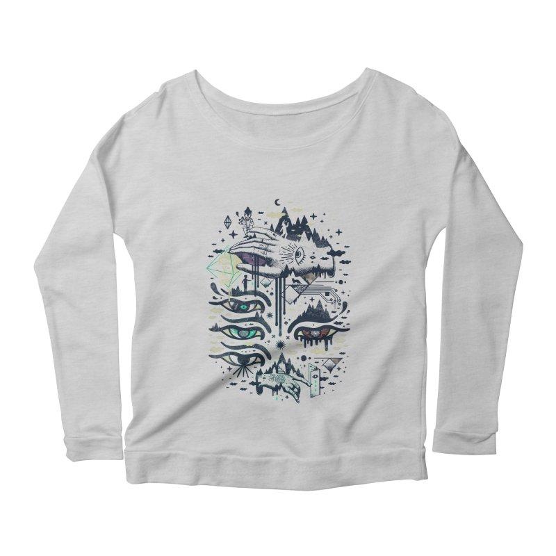 Ego Deaf Women's Scoop Neck Longsleeve T-Shirt by