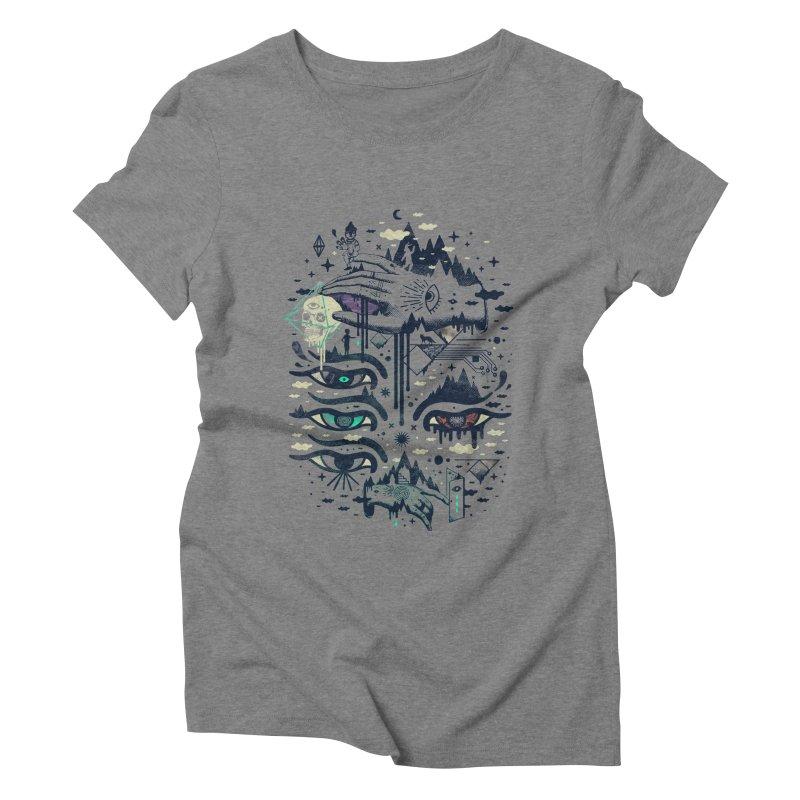 Ego Deaf Women's Triblend T-Shirt by