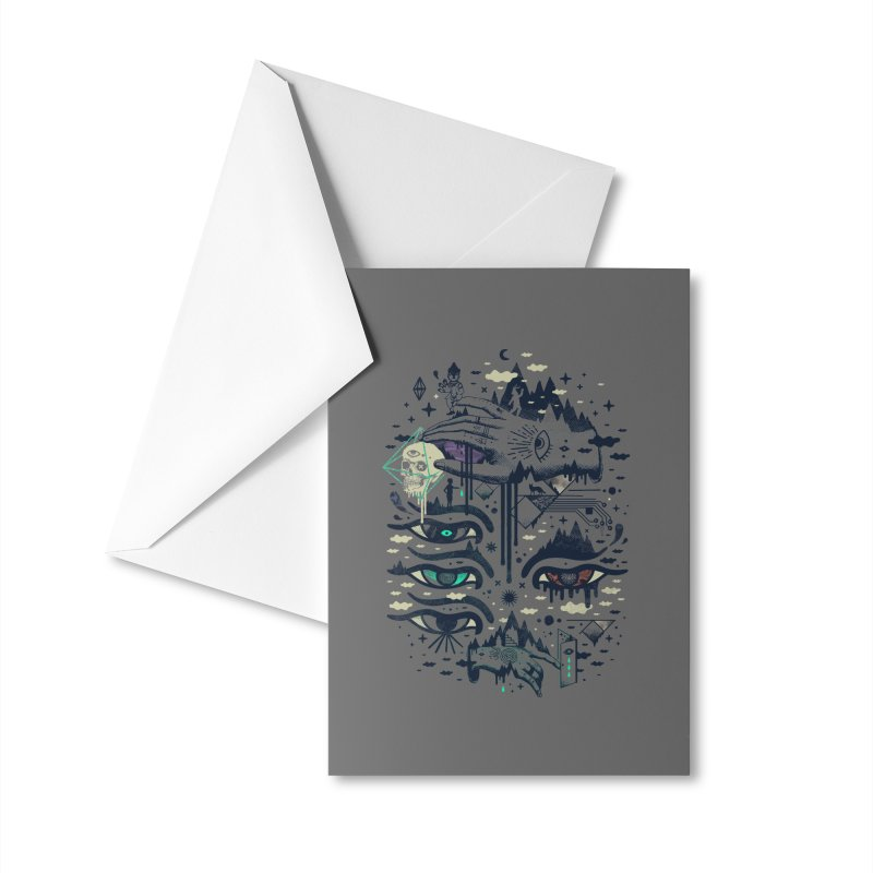 Ego Deaf Accessories Greeting Card by ordinaryfox