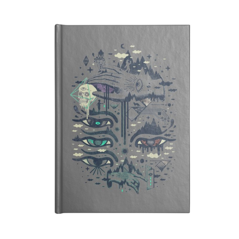 Ego Deaf Accessories Blank Journal Notebook by