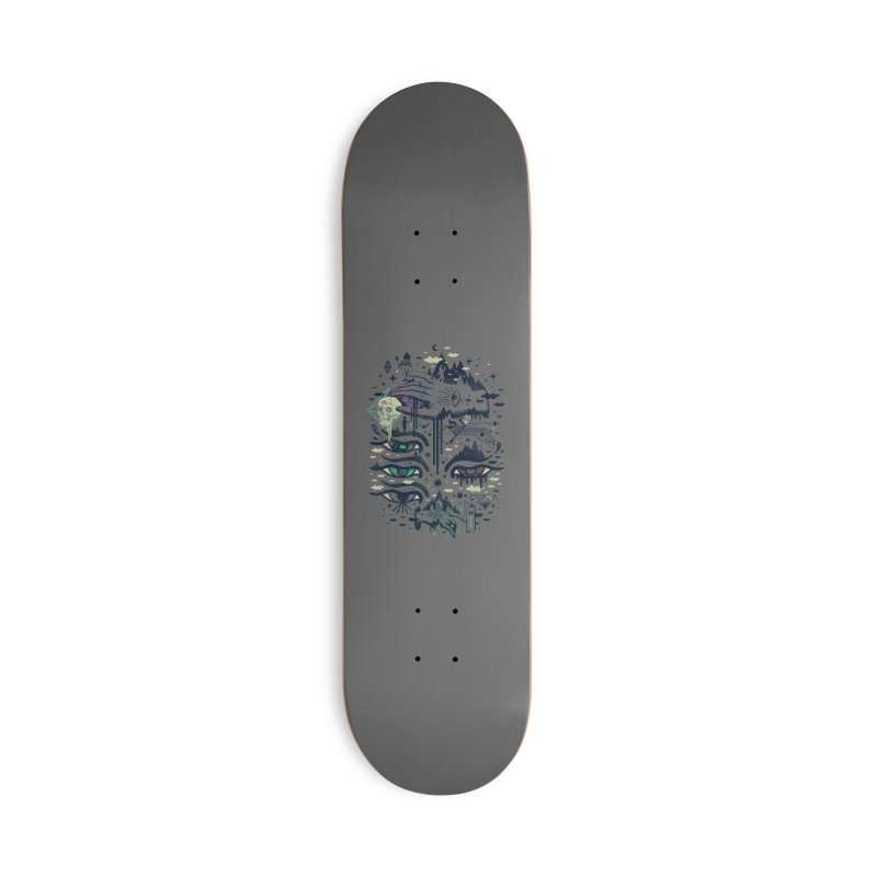 Ego Deaf Accessories Deck Only Skateboard by