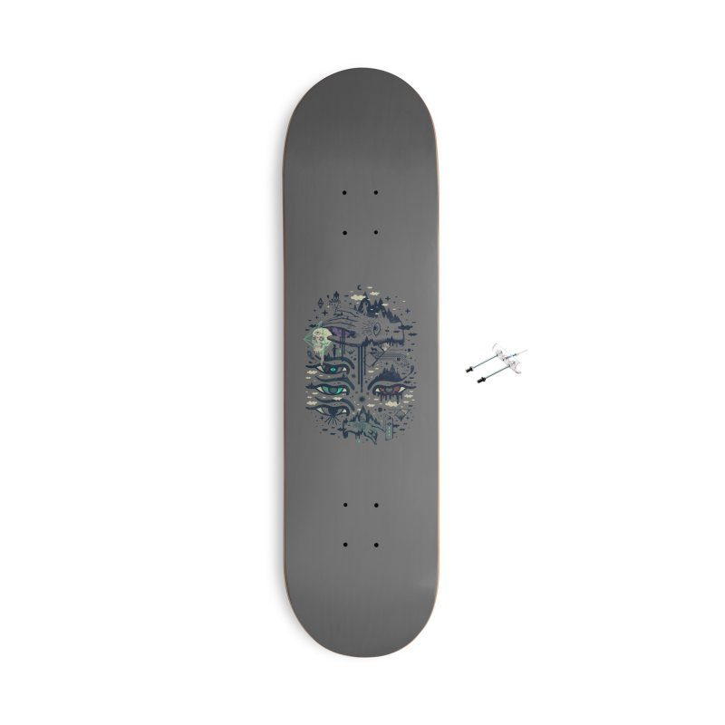 Ego Deaf Accessories With Hanging Hardware Skateboard by