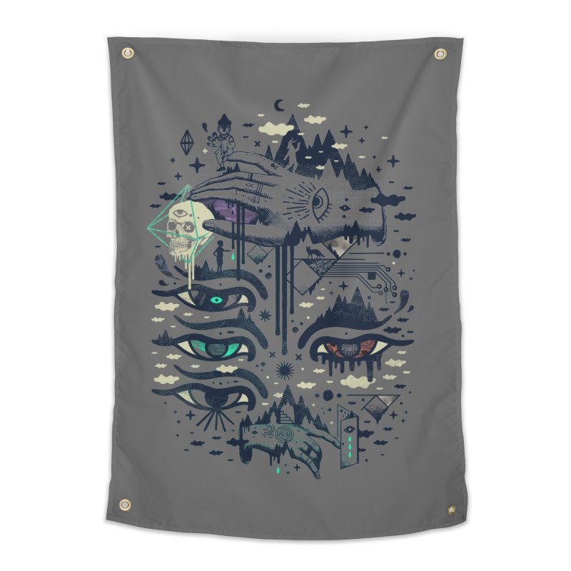 Ego Deaf Home Tapestry by