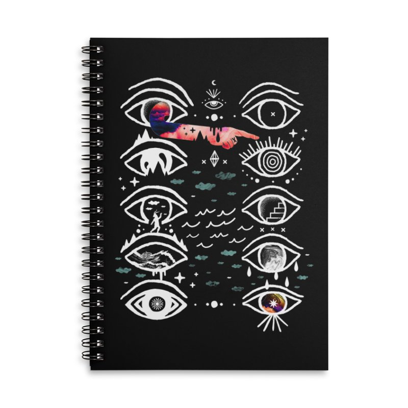 High Moods Low Cycles Accessories Lined Spiral Notebook by