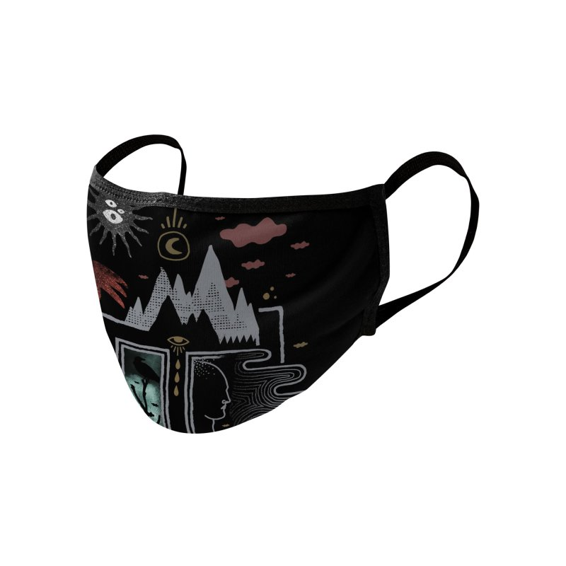 Stay Home Accessories Face Mask by ordinaryfox
