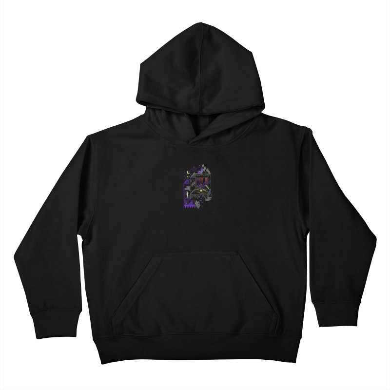 Fine Within the Confines Kids Pullover Hoody by ordinaryfox