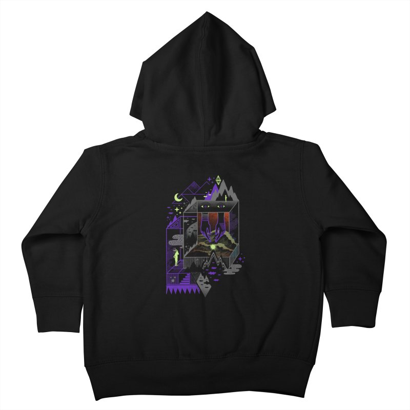 Fine Within the Confines Kids Toddler Zip-Up Hoody by ordinaryfox