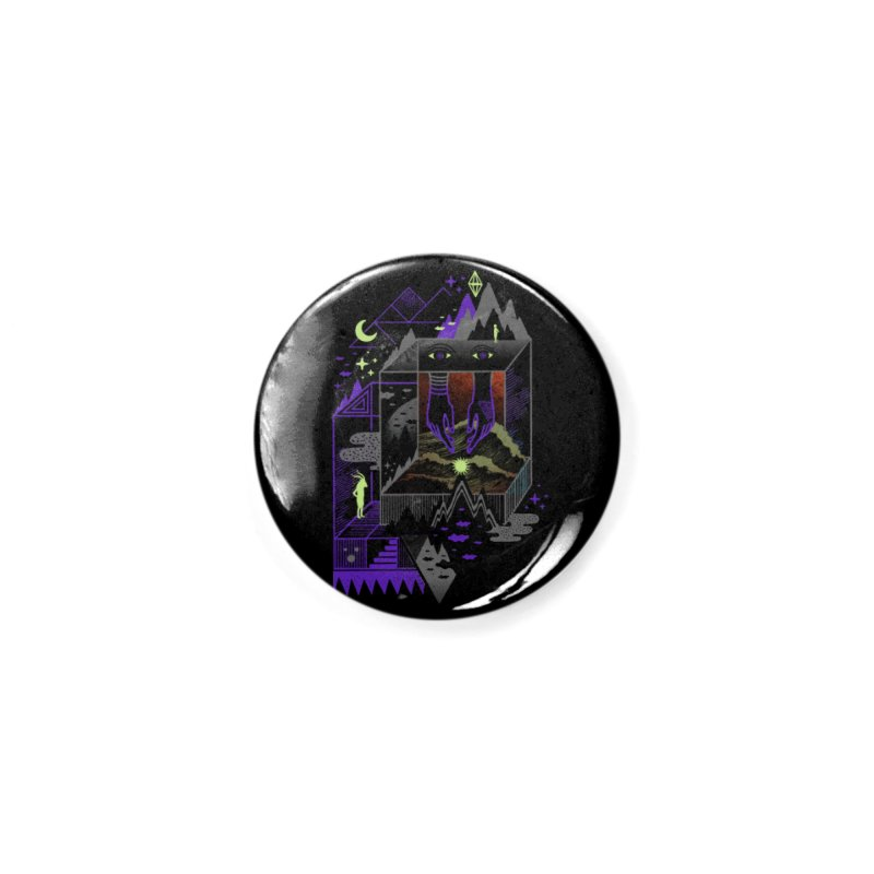 Fine Within the Confines Accessories Button by ordinaryfox