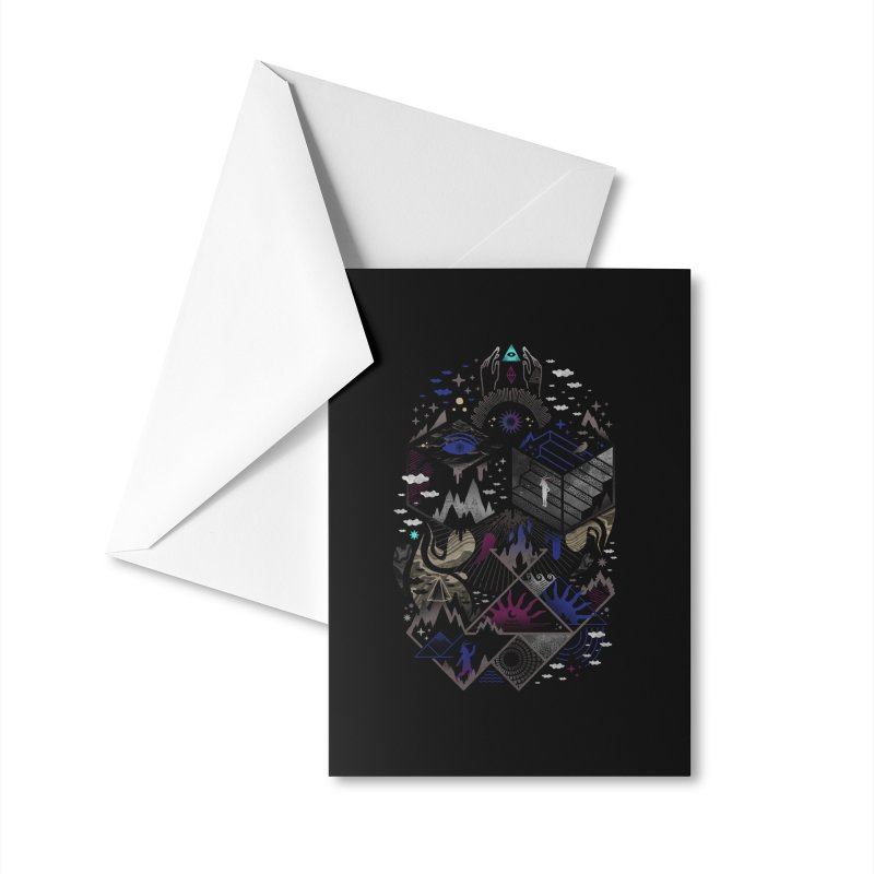 Yawning Hollow Accessories Greeting Card by ordinaryfox