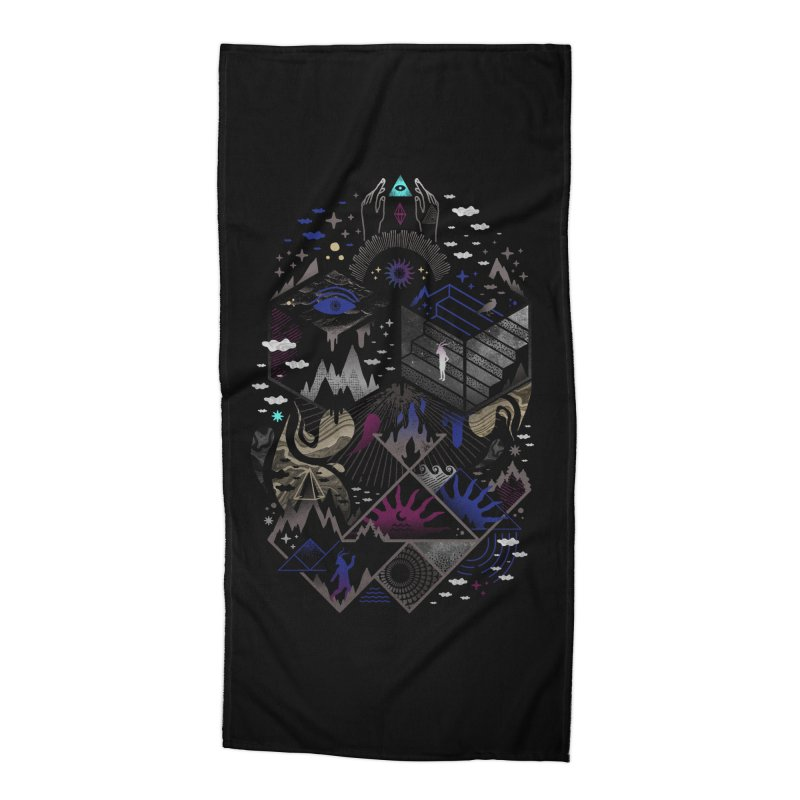 Yawning Hollow Accessories Beach Towel by ordinaryfox