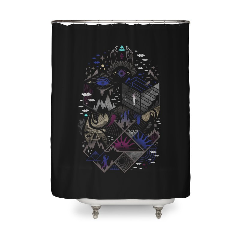 Yawning Hollow Home Shower Curtain by ordinaryfox
