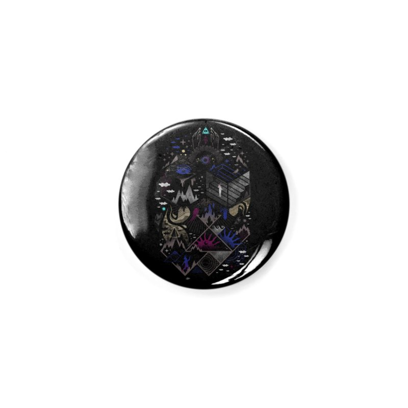 Yawning Hollow Accessories Button by ordinaryfox