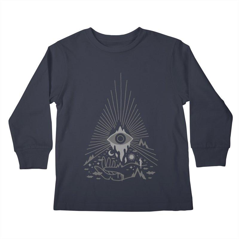 Secret Disorder Kids Longsleeve T-Shirt by ordinaryfox
