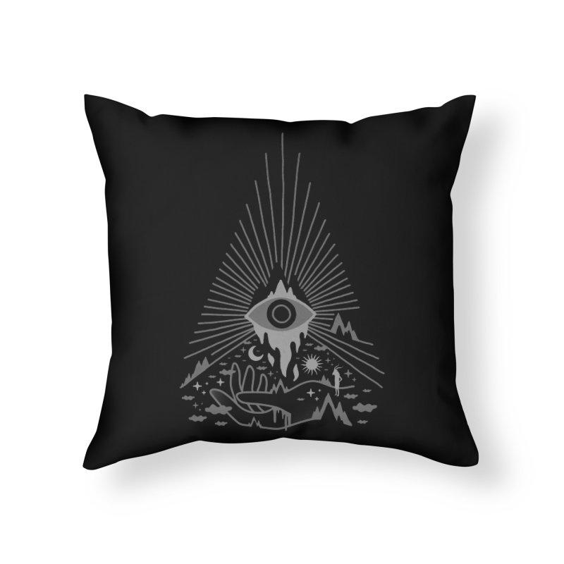 Secret Disorder Home Throw Pillow by ordinaryfox