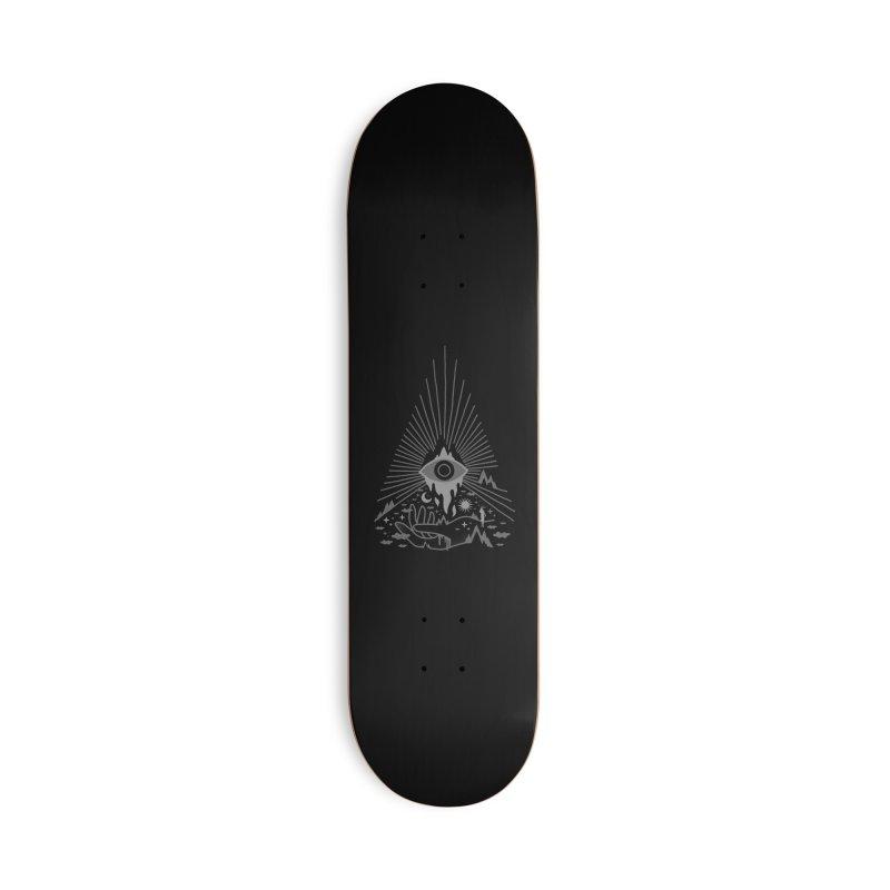 Secret Disorder Accessories Skateboard by ordinaryfox