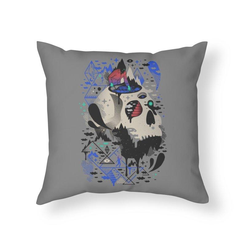 Mechanical Dawn Home Throw Pillow by ordinaryfox
