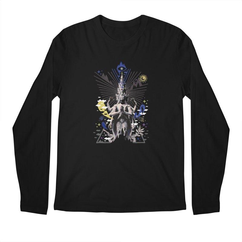 Divine Intervention Men's Longsleeve T-Shirt by ordinaryfox