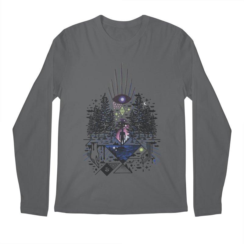 Magic Eye Men's Longsleeve T-Shirt by ordinaryfox
